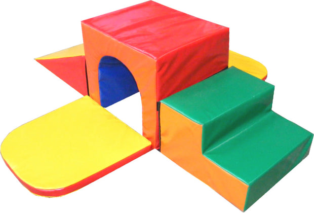 Tots Climber Tunnel Set