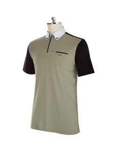ABY SS2020 - Men's Short Sleeve Competition Polo - Reform Sport Equestrian Clothing