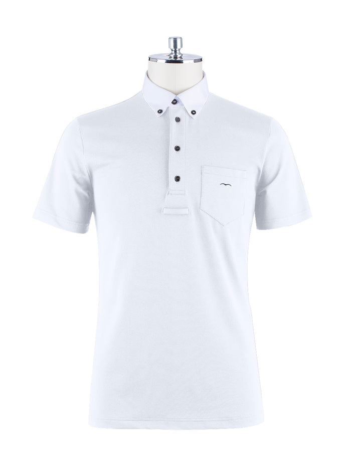 AMBURGO SS2020 - Men's Short Sleeve Polo - Reform Sport Equestrian Clothing