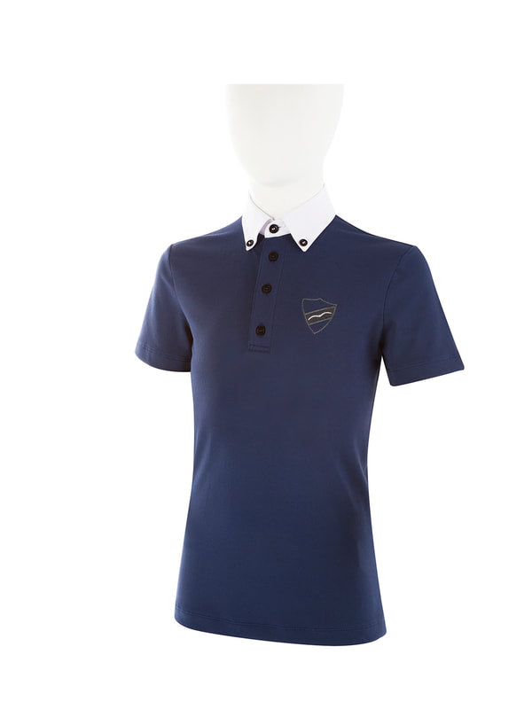 AMLETO SS2020 - Boy's Short Sleeve Competition Polo - Reform Sport Equestrian Clothing
