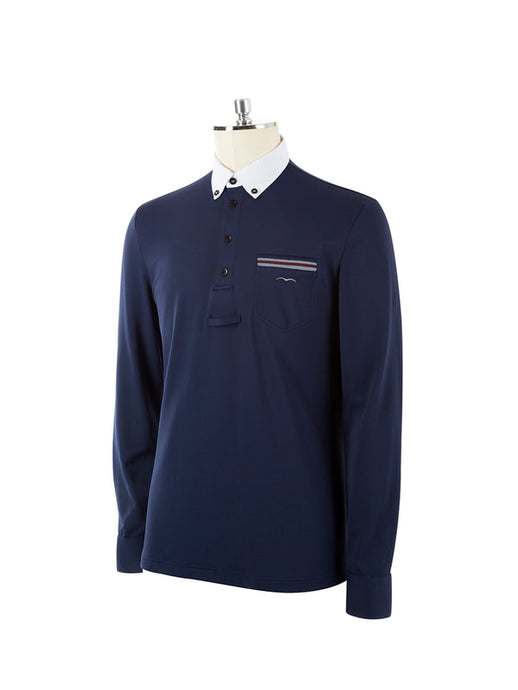 ANTEX SS2020 - Men's Long Sleeve Competition Polo - Reform Sport Equestrian Clothing