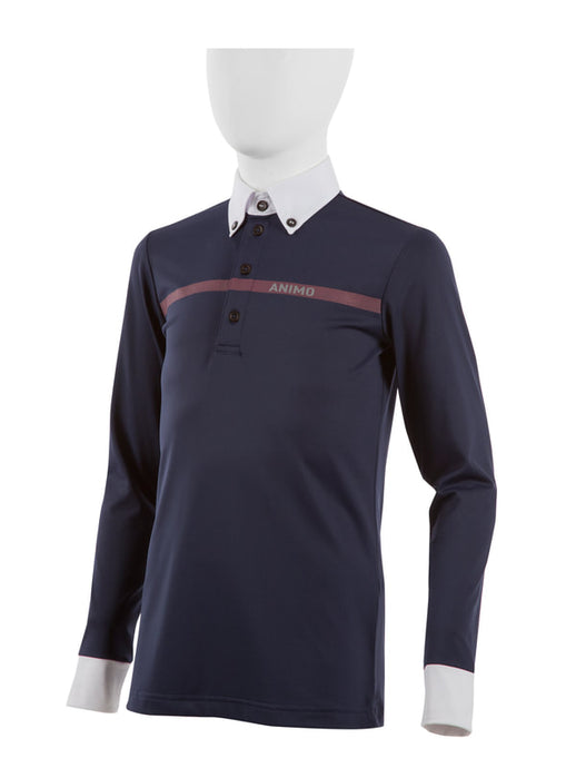 APIS Boys Long Sleeve Polo