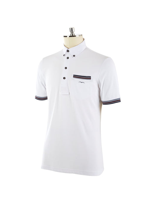 Ascia SS2020 - Men's Short Sleeve Polo - Reform Sport Equestrian Clothing