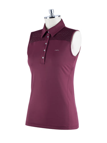 Bero Sleeveless Polo - Reform Sport Equestrian Clothing