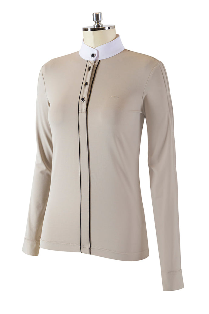 BLAIN Woman's Long Sleeve Competition Polo NEW AW19 - Reform Sport Equestrian Clothing