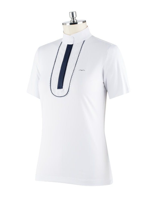 Botty Short Sleeve Competition Polo - Reform Sport Equestrian Clothing