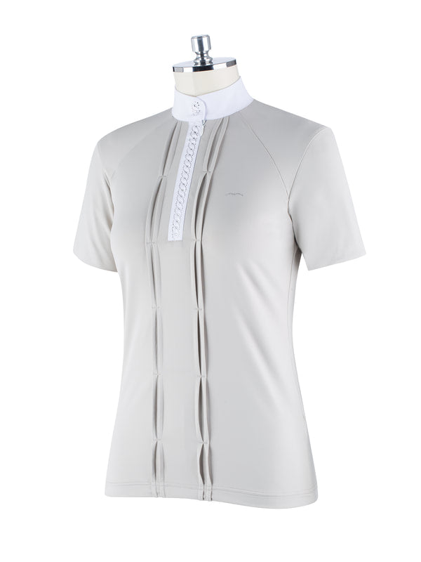 Brat Short Sleeve Competition Polo - Reform Sport Equestrian Clothing