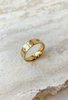 18K GOLD PLATED IN THE STARS RING