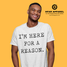 "Load image into Gallery viewer, ""I'm HFAR"" Tee in White"