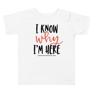 I Know Why TODDLER Tee