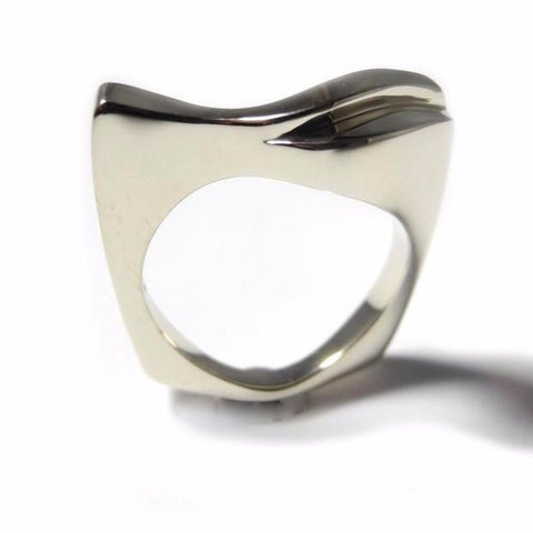 Double Wave Gold Ring