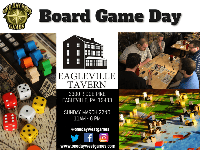 POSTPONED - Board Game Day - March 22nd