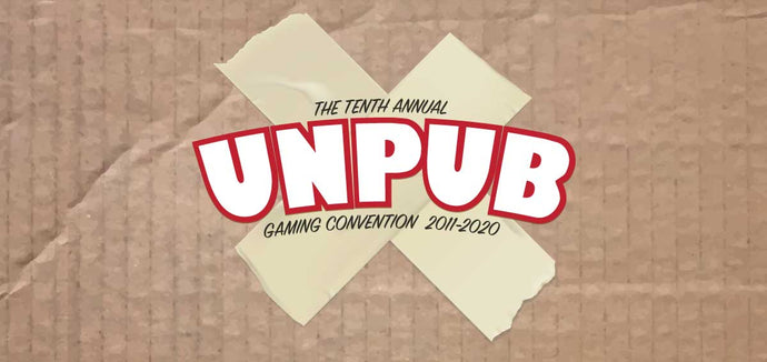 Unpub 10 - Board Game Convention - May 22-24th