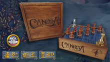"Load image into Gallery viewer, Canosa - ""Deluxe"" Wooden Game"