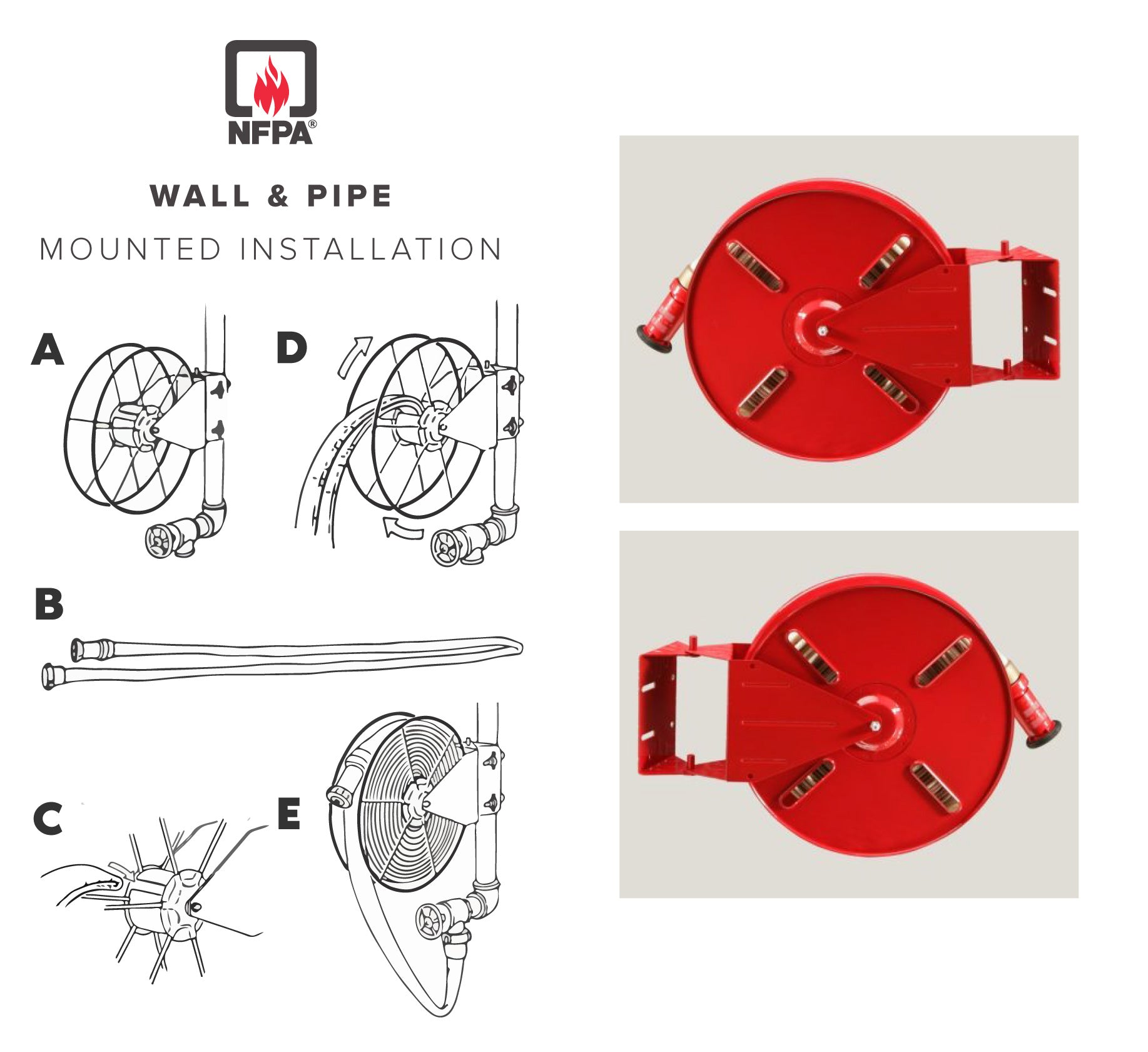 Fire Hose Reel Installation