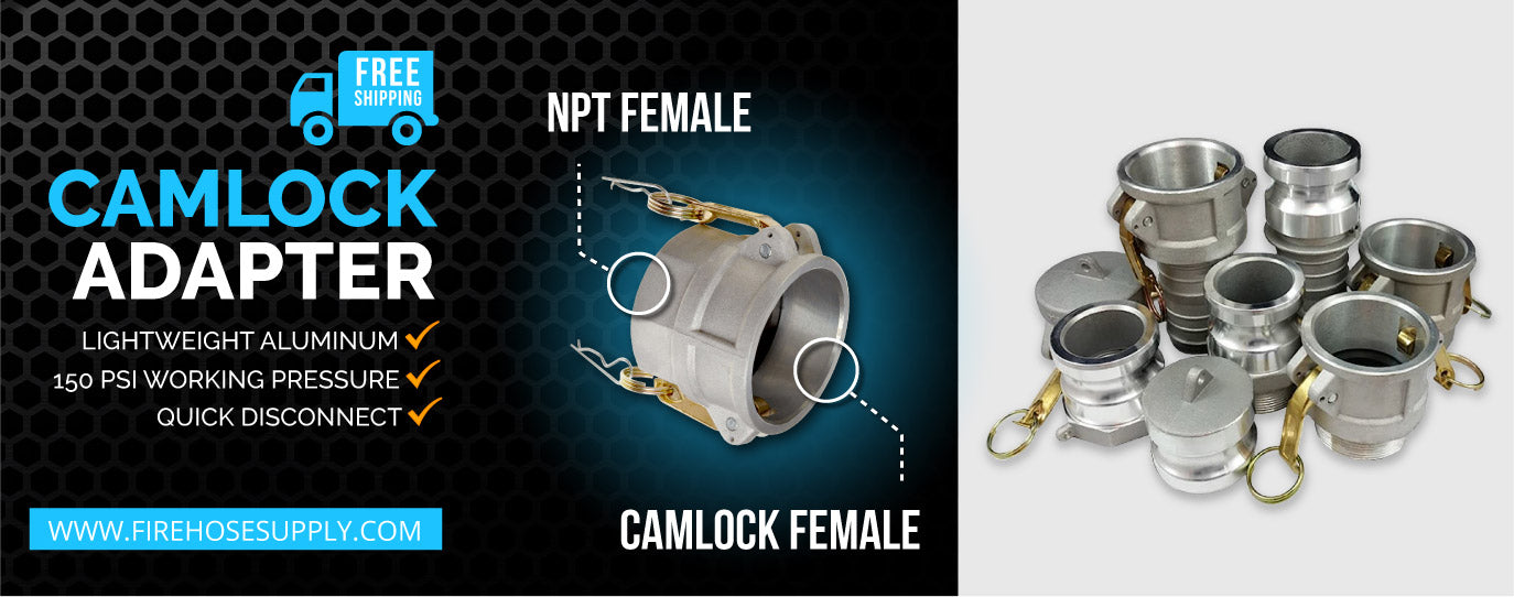 camlock female to female npt