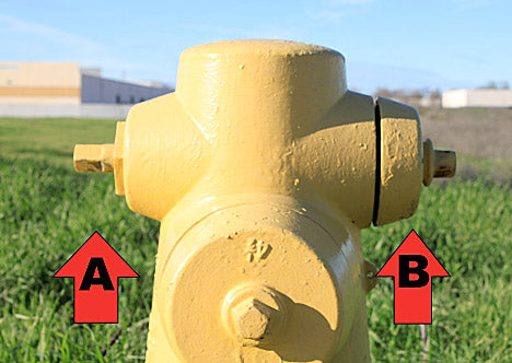 Fire Hydrant 2.5 Inch and 4 Inch Connections | Fire Hose Supply