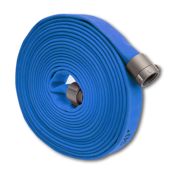 "1.5"" Double Jacket Blue Fire Hose (Factory Blemished)"