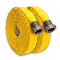 "1 1/2"" Single Jacket Wildland & Forestry Hose Yellow"