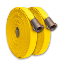 "1"" Inch Forestry Fire Hose (Type II) Yellow"