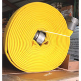 "BULK 2.5"" NH X 1000' Feet Double Jacket Fire Hose Yellow:FireHoseSupply.com"