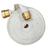 "1.5"" x 100 Feet Used Single Jacket Fire Hose:FireHoseSupply.com"