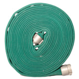 "1.5"" Double Jacket Dark Green Fire Hose:FireHoseSupply.com"