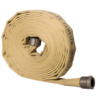 "1.5"" Double Jacket Tan Fire Hose:FireHoseSupply.com"