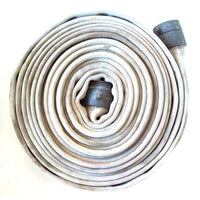 "2.5"" Used Single Jacket Fire Hose White:FireHoseSupply.com"