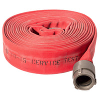 "3"" Double Jacket Red Fire Hose:50 Feet:FireHoseSupply.com"