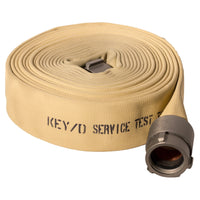"3"" Double Jacket White Fire Hose:FireHoseSupply.com"