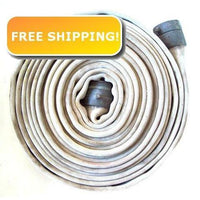 "BULK 2.5"" x  500 Feet Double Jacket Fire Hose:FireHoseSupply.com"