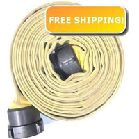 "BULK 4"" x 1,000 Feet Double Jacket Fire Hose:FireHoseSupply.com"