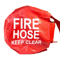 Nylon Swing Fire Hose Reel Cover:FireHoseSupply.com