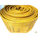 "Rubber 5"" Double Jacket Scrap Fire Hose:FireHoseSupply.com"