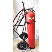 Used Wheeled CO2 Fire Extinguisher:FireHoseSupply.com