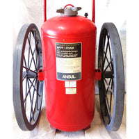 Used Wheeled Foam Extinguisher:FireHoseSupply.com