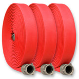 "2 1/2"" Inch Single Jacket Fire Hose:FireHoseSupply.com"