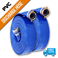 "2"" Inch PVC Lay Flat Discharge Hose:FireHoseSupply.com"