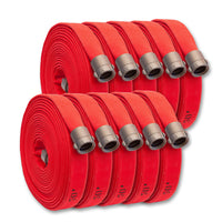"BULK 1-3/4"" Double Jacket Fire Hose Red"