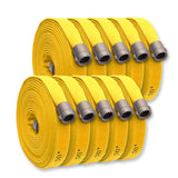 "BULK 1-3/4"" Double Jacket Fire Hose Yellow"