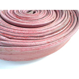 "1.5"" Used Red Rubber Scrap:FireHoseSupply.com"