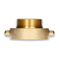 Fire Hydrant Hose Adapter (Female x Male) Brass Pin Lug
