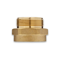 Female to Male Brass Adapter (Hex)