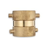 Female to Female Swivel Brass Adapter (Pin Lug)