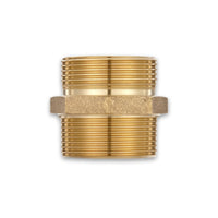 Fire Hydrant Hose Adapter (Male x Male) Brass Hex