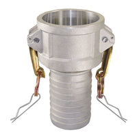 "4"" Camlock Female Hose Coupling & Clamp (Aluminum):FireHoseSupply.com"