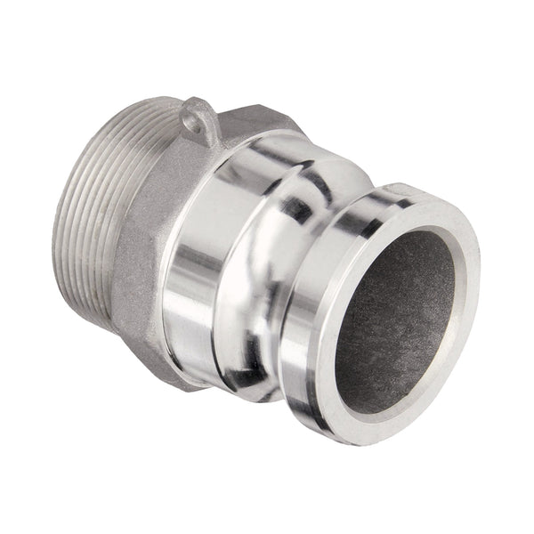 Camlock Male x NPT Male Adapter (Aluminum):FireHoseSupply.com
