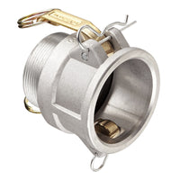 "5"" Camlock Female x  5"" NPT Male Adapter (Aluminum):FireHoseSupply.com"