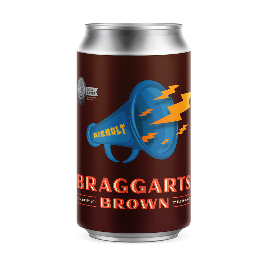 Braggarts Brown Ale (25oz Crowler)